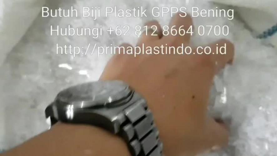 Biji Plastik GPPS Bening Cemerlang | Giling air 12201