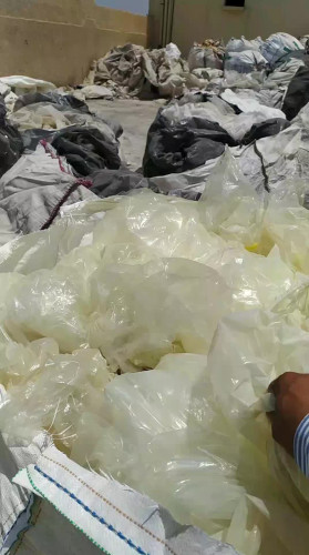 LDPE clear film waste and Shredded film available 21619