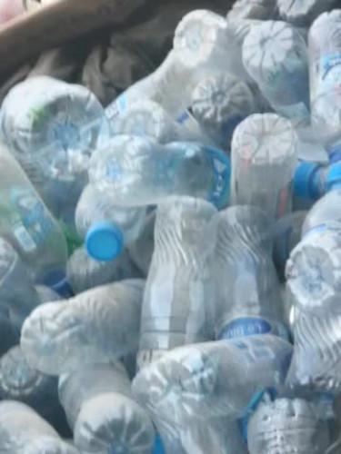 plastic water bottles  12887