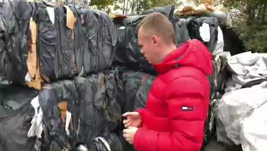 Pure PVC furniture waste 14070