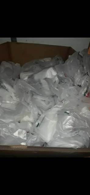 HDPE White or clear 6208