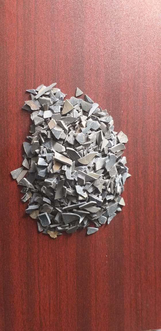 Dark grey pvc scrap  6178