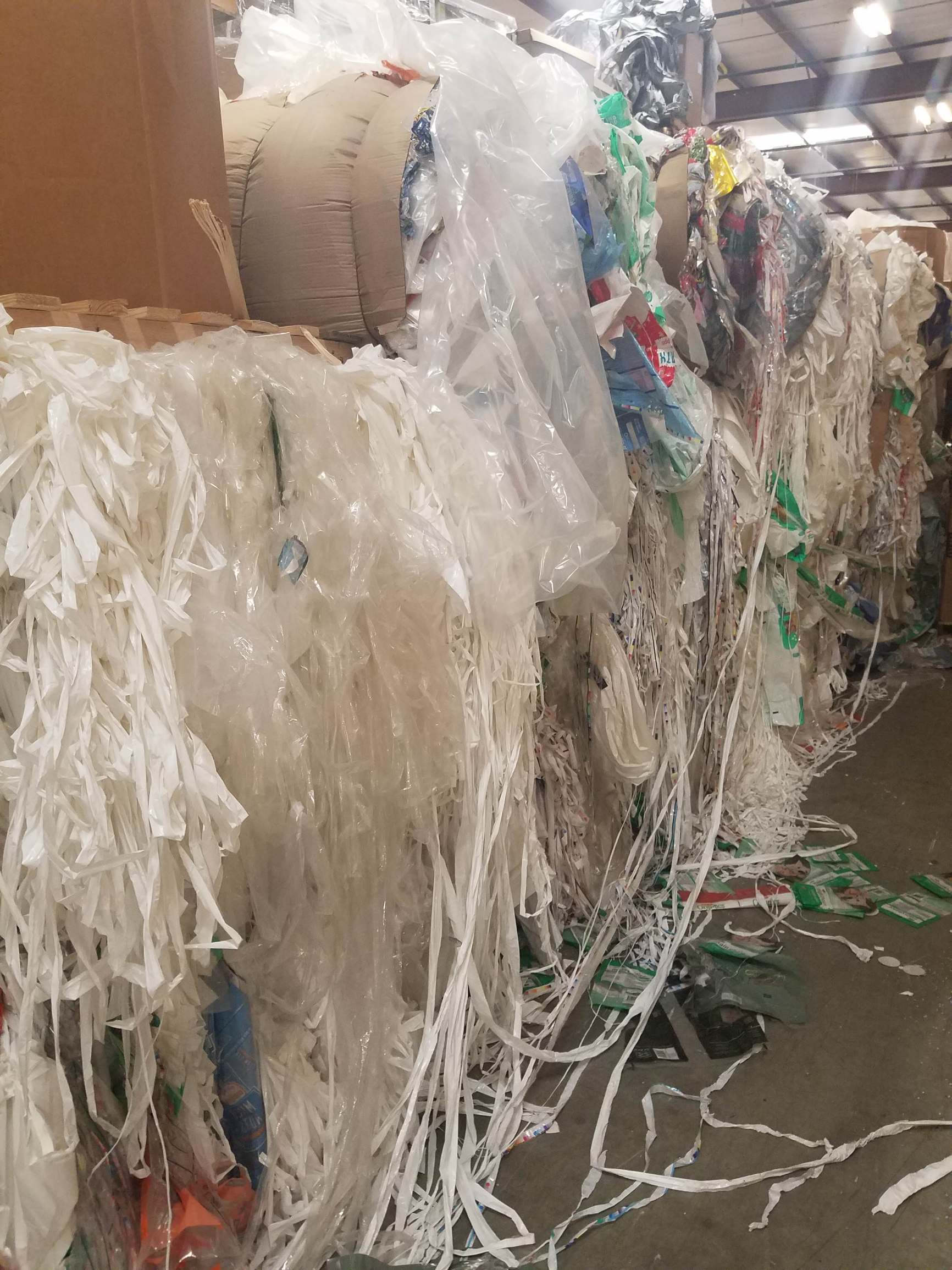 PE/PET Laminated bales and cased product 5414