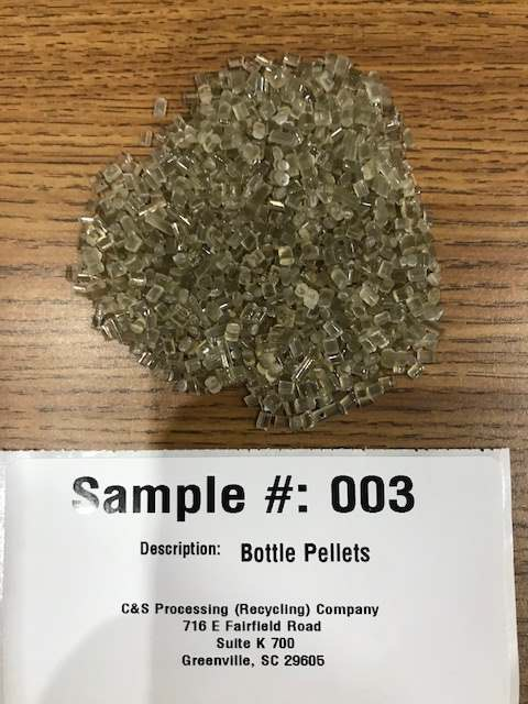 PET Bottle Pellets 4774