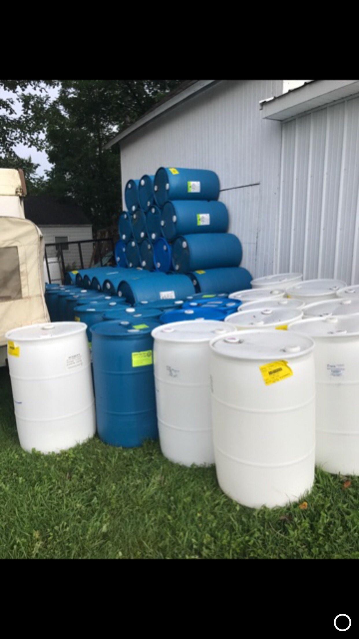 55 Gallon Drums  195