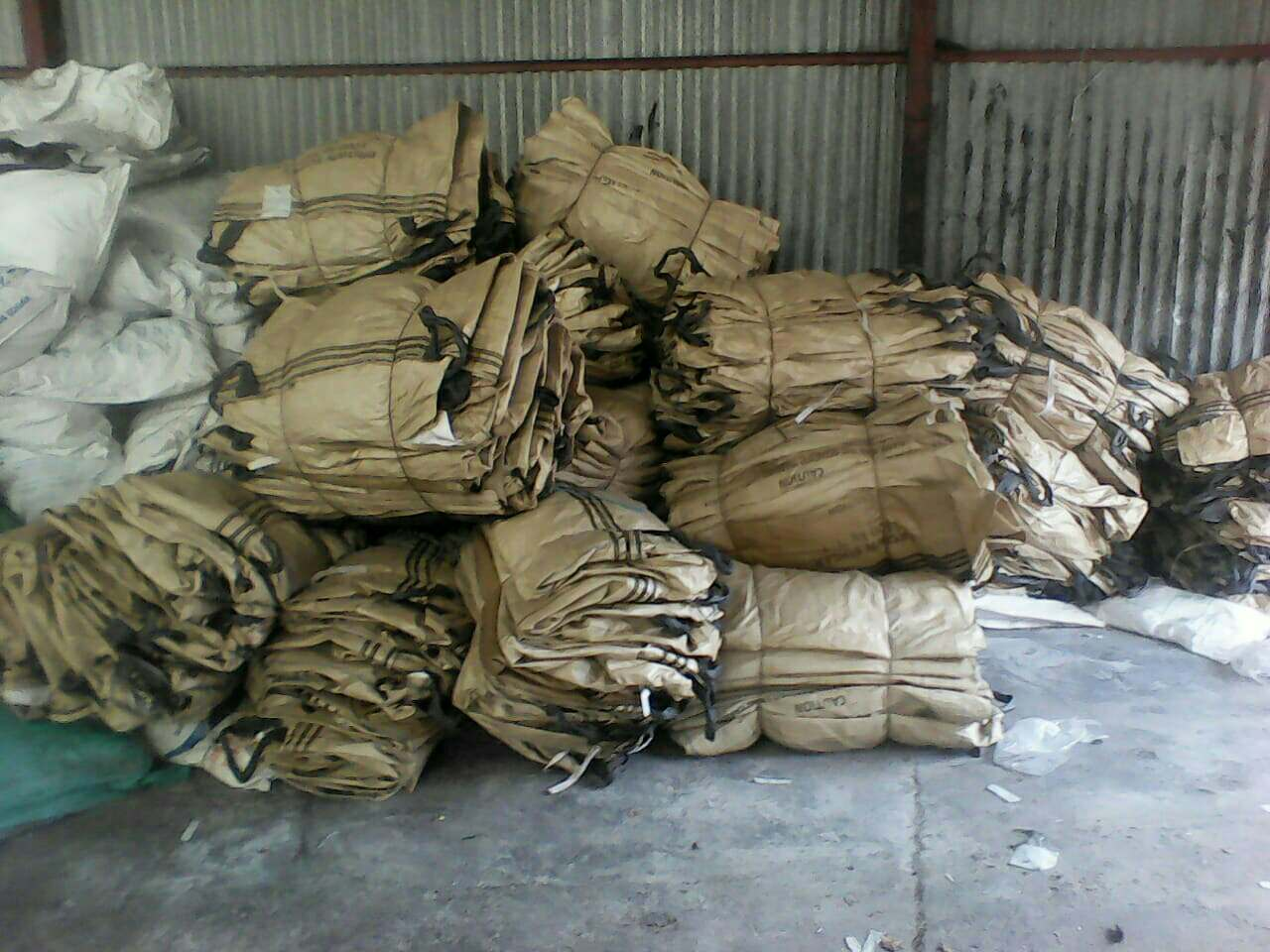 PP Baled Woven bags baled PP