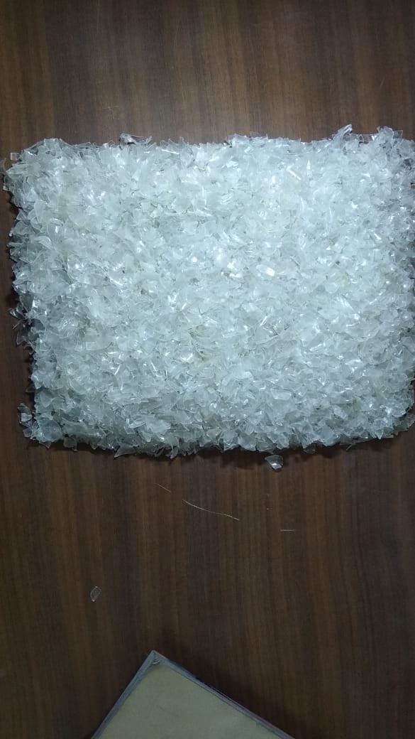 PET hot wash flakes  4893