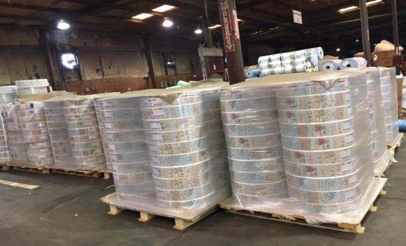 LDPE(printed) film w/calcium,diaperfilm 4595