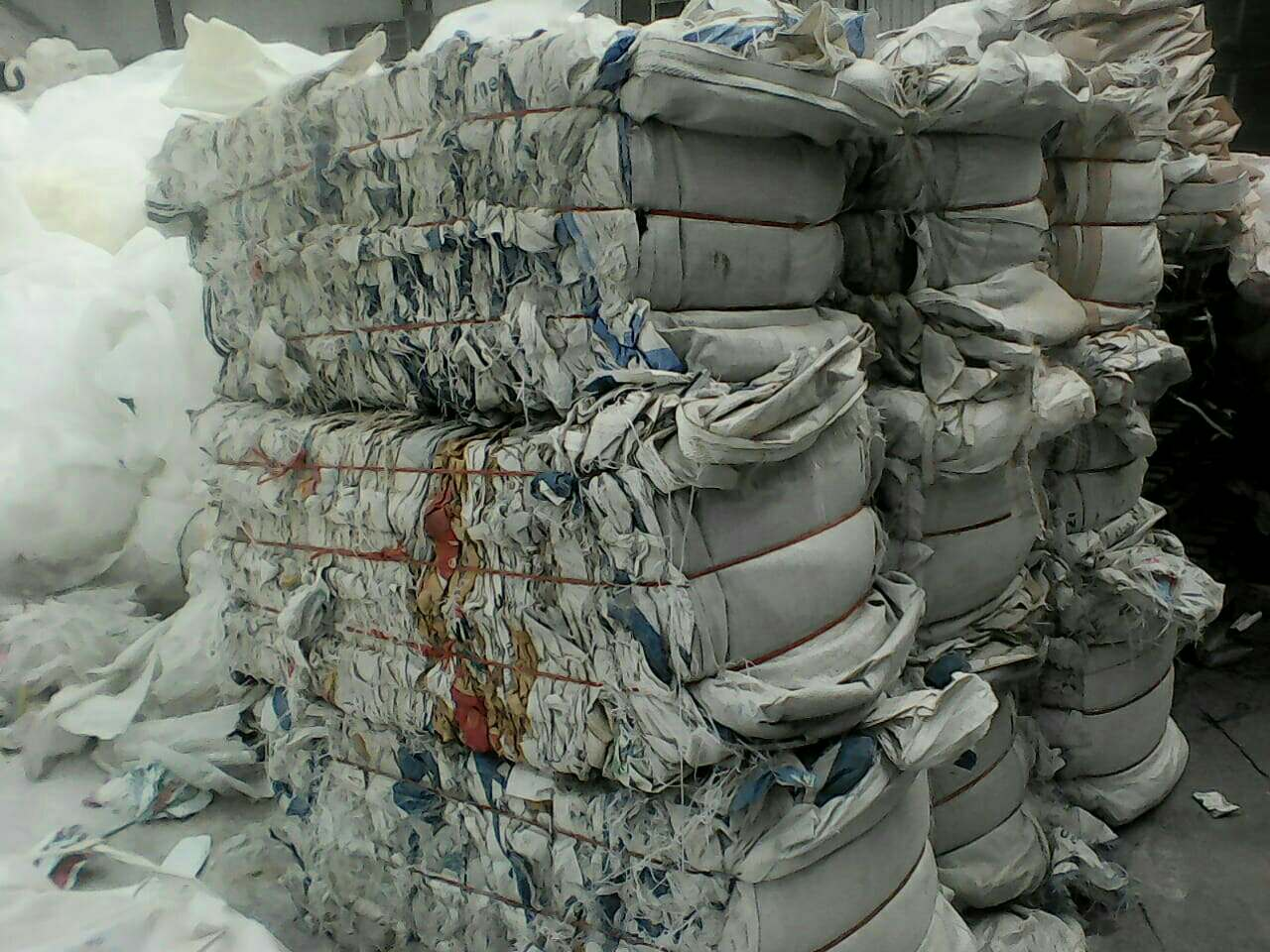 Woven bags baled PP 5642