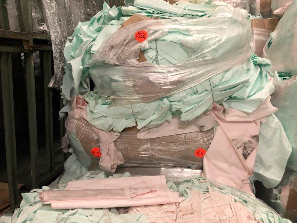 100% polyester air bag scrap  7327