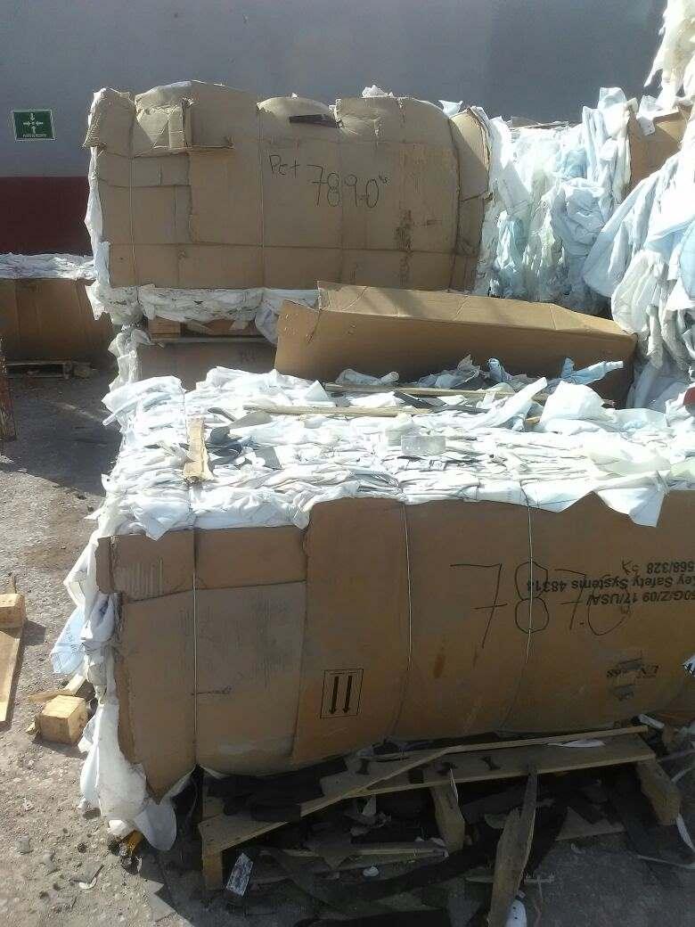 PET airbag scrap 6719