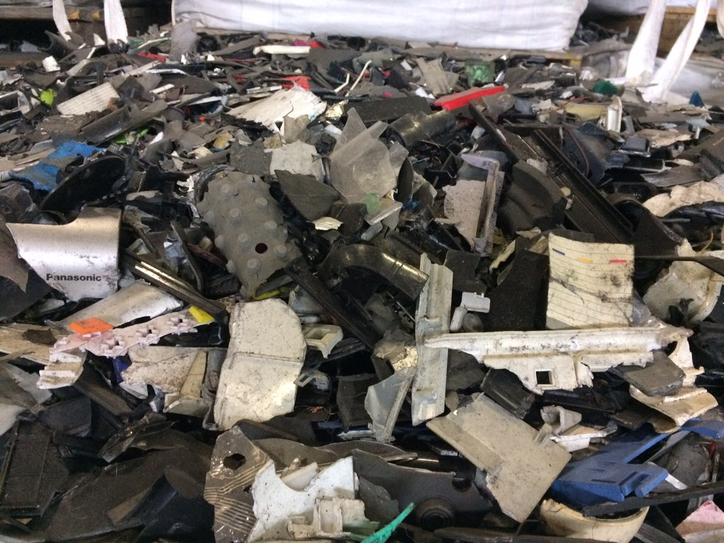 e-scrap plastic 4542