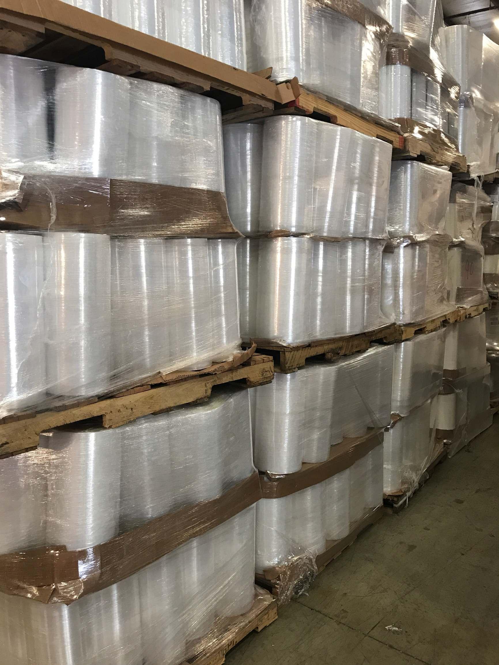 LLDPE CLEAR STRETCH ROLLS 4600