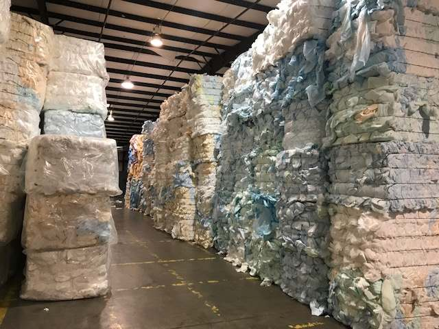 Post Industrial Whole Diapers, Baled 2023