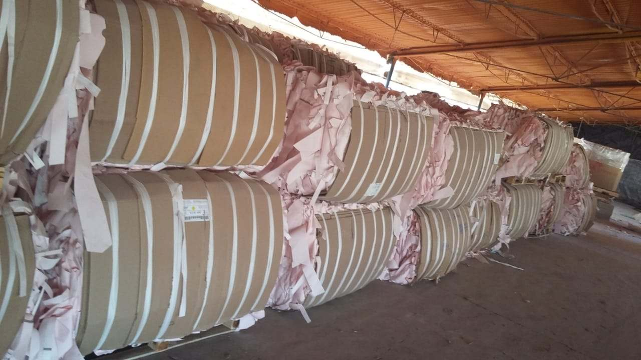 Polyester Airbag scrap with silicon 10551