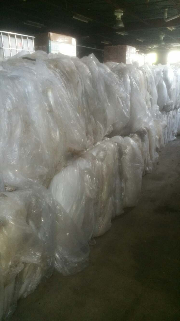 Colored LDPE Chicken Film Scrap (baled) from food plant 899