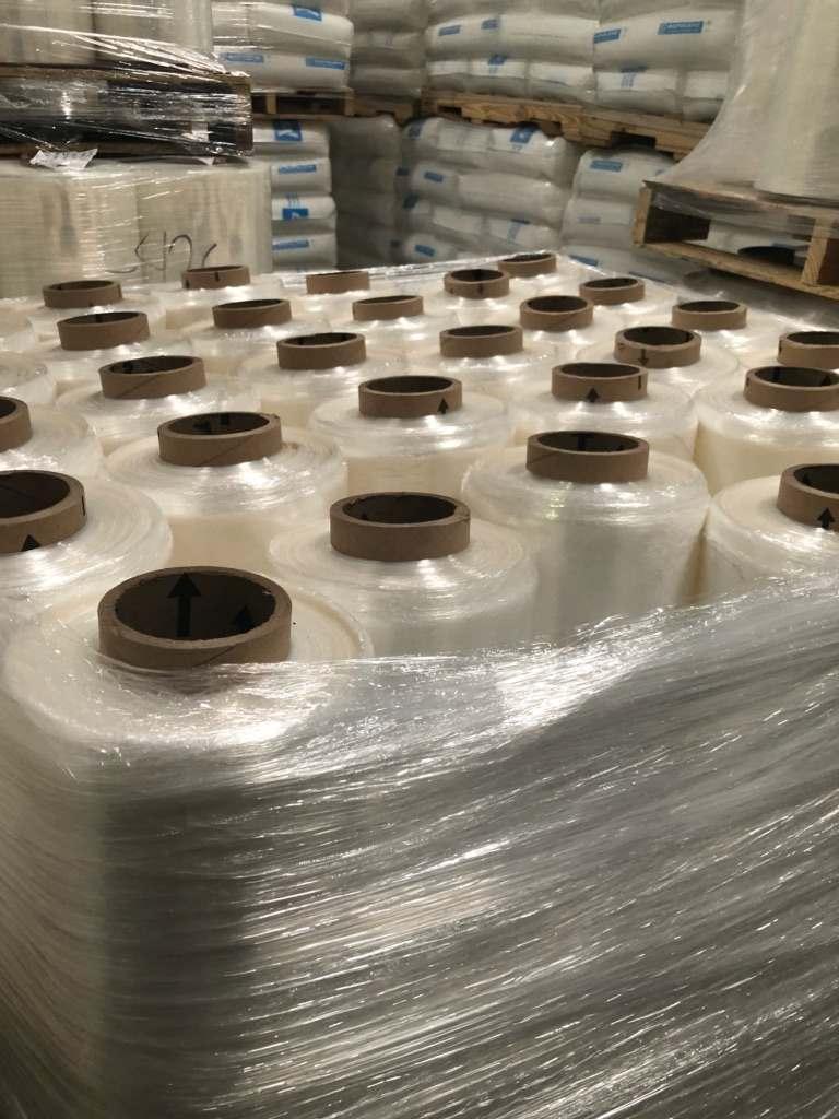 Clear LLDPE Stretch Rolls 5726