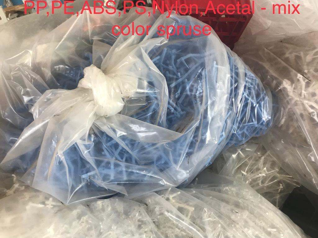 Other Baled PP PE PS ABS NYLON ACETOL MIX SPRUCE