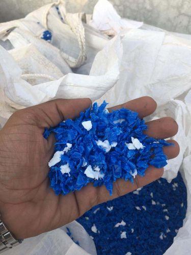HDPE REGRIND BLUE MILKY 8287
