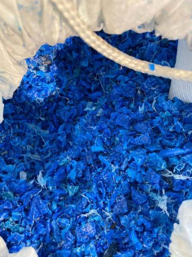 Hdpe blue drum regrind  18301
