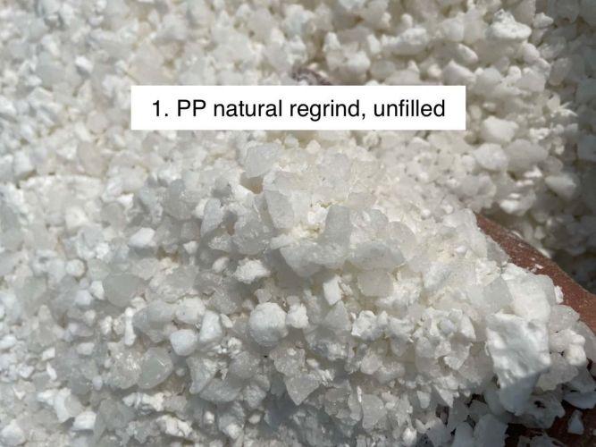 PP regrinds, natural & mix colour 21166