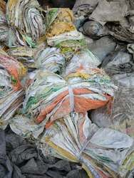 PP BAGS WASTE (USED FOR RICE PACKING) 20272