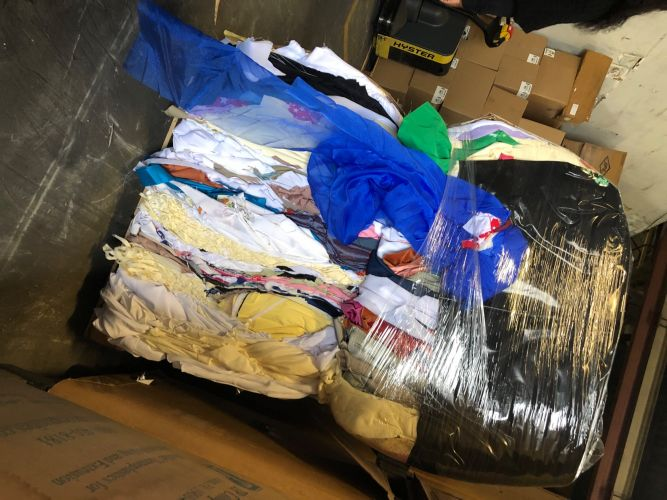 Polyester Fabric Bales 22602