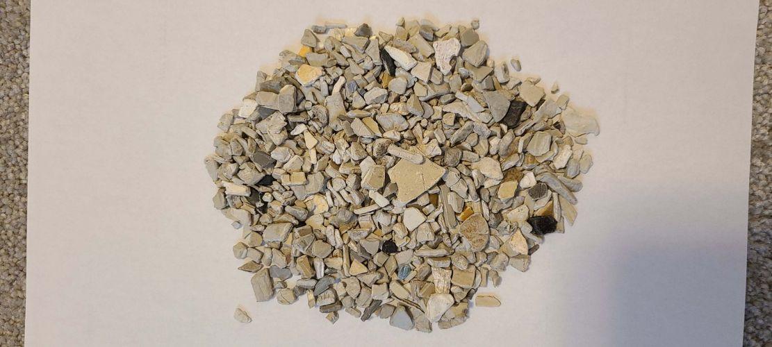 Raw plastic materials  19154