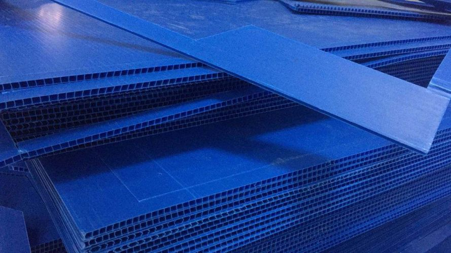 PP Plastic Corrugated & PVC Micron Scrap Materials 4910