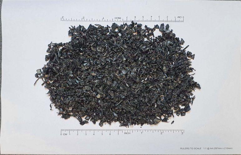 HDPE regrind- black 23806