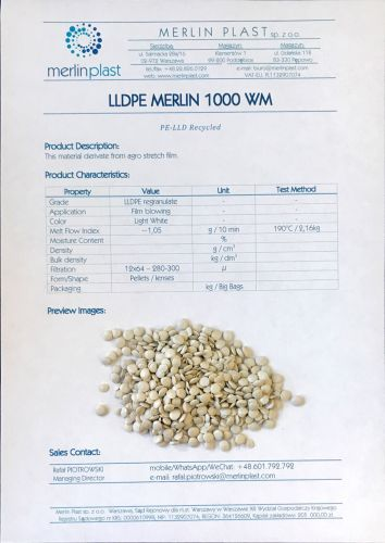 LLDPE from agro stretch 5389