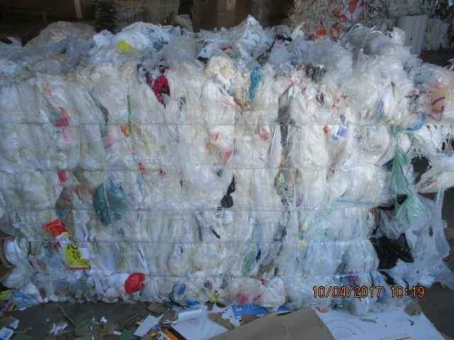 LDPE FILM with small % of HDPE grocery bags 78