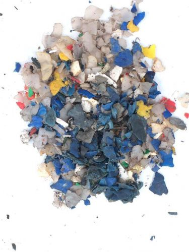 HDPE regrind cold washed from drums 23544