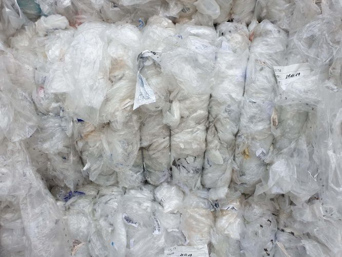 LDPE Film 98/2 Sorted (Paper Labels 8%) 15749