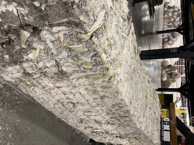 Polyester Fiber Carpet, Trim Scrap with PP Backing 23336