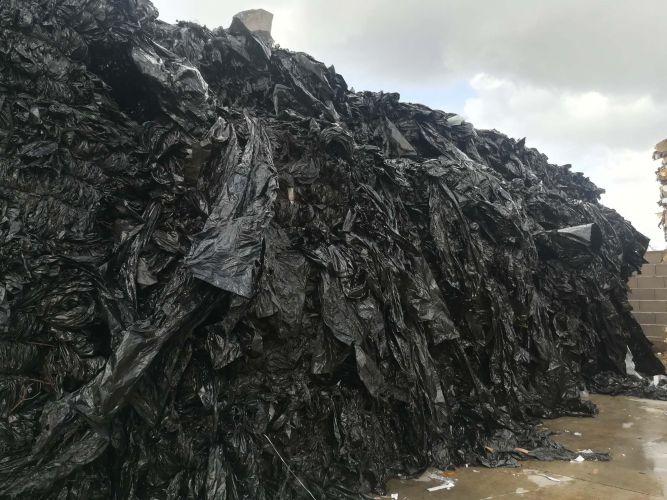 LDPE Black In Bales 8196