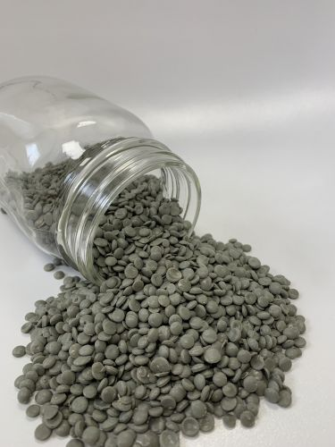 LDPE pellets - grey 18199