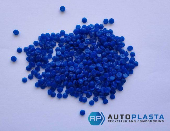 HDPE blue pellets 11051