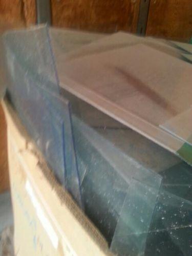 PC clear sheet and  cutoff scrap 9319