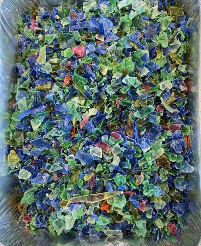MIX PET COLOUR FLAKES 15994