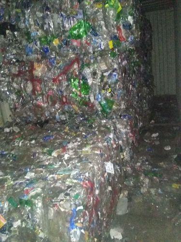 13 bales of plastic bottles number one 971
