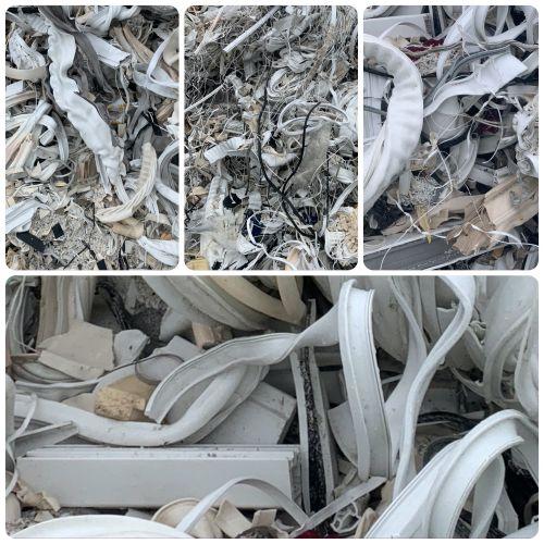 Rigid PVC production scrap lumps  18755