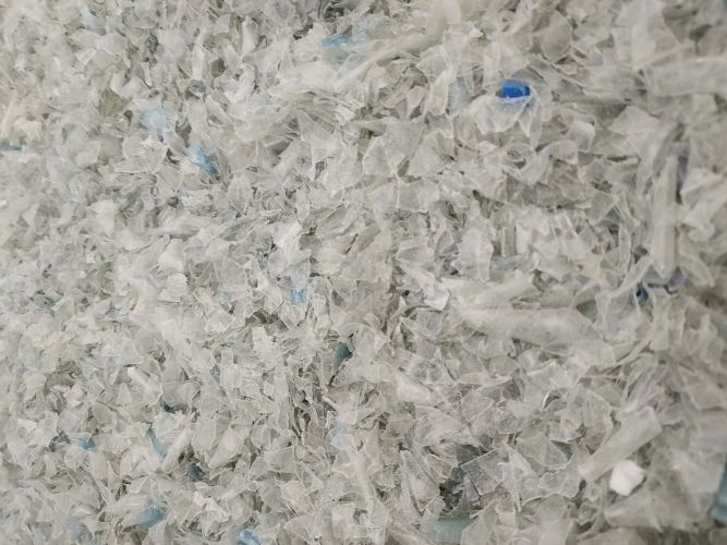 High purity clear PET flakes food-grade 22461