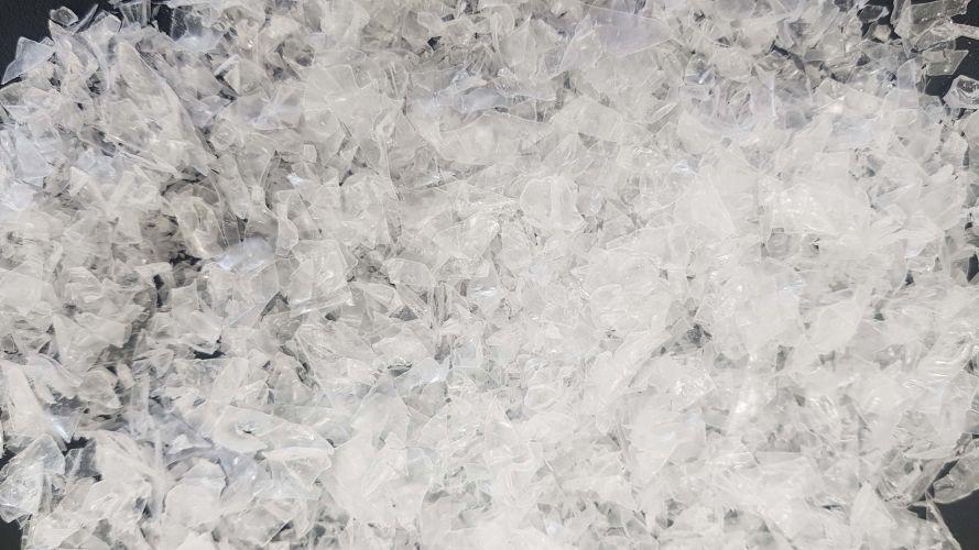 UNUSED PET Bottle Flake (Clear)  17493