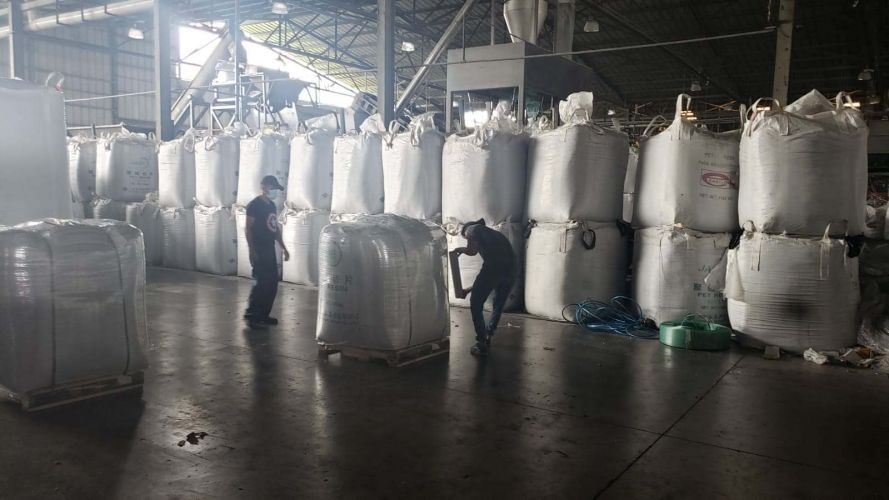LDPE RECYCLED PELLETS 22475