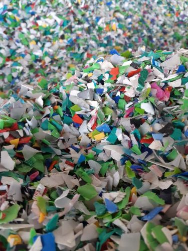 HDPE mixed color, ground and washed. 3134