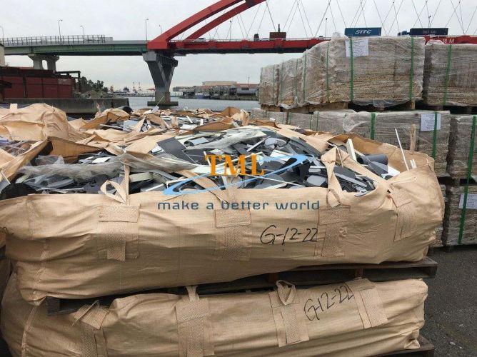 PVC Lump and Off cut loss sheets scrap 16668