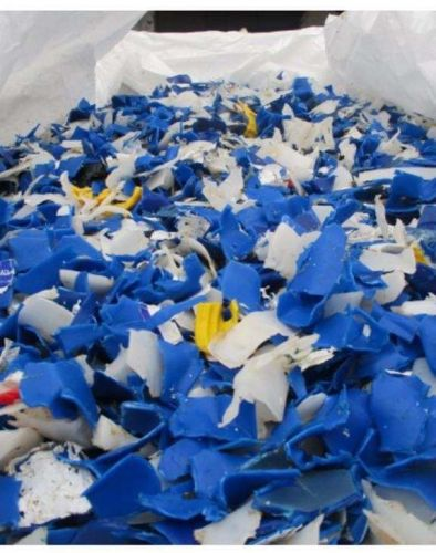 HDPE DRUMS GRINDED BLUE 20517