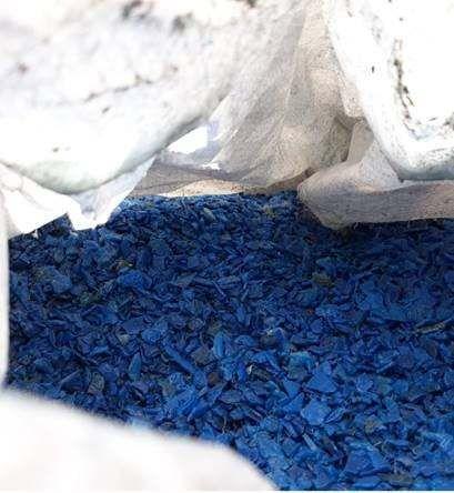 HDPE-HMW Blue drums Spain 19160