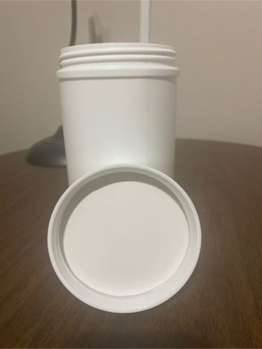 32oz HDPE wide mouth jars  w/CR lid  23169